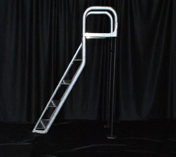 Aqua Stairs 4 Step Angled Dock Ladders 4 Step Heavy Duty