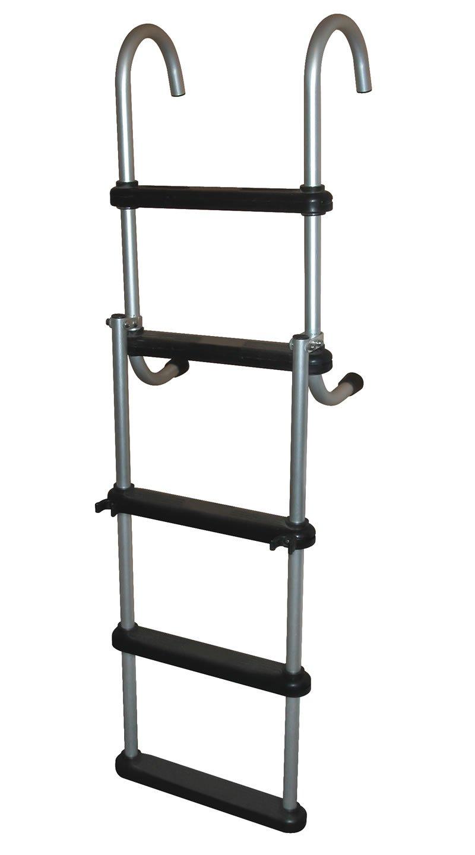 5 Step Removable Amp Folding Pontoon Ladders