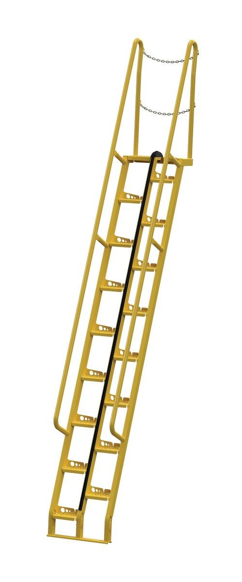 11 Ft 68 Degree Alternating Tread Stair Ladders