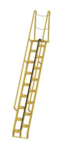 11 ft Alternating Tread Stair Ladders, 68° Angle