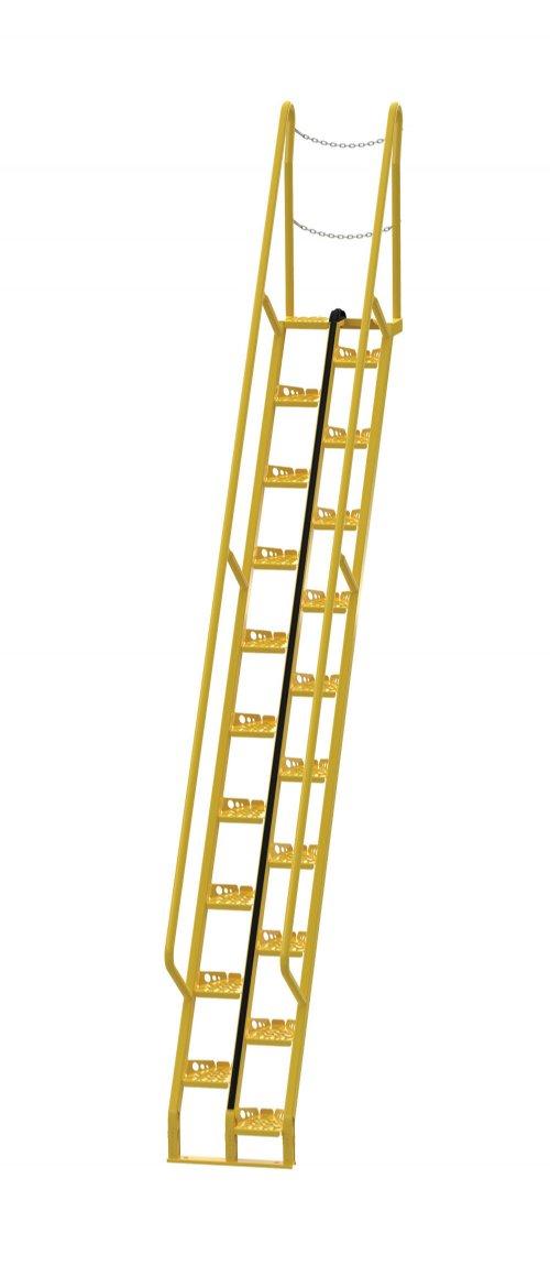 12 Ft Alternating Tread Stair Ladders Dockladdersdepot Com