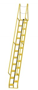 13 ft Alternating Tread Stair Ladders, 56° Angle