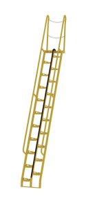 13 ft Alternating Tread Stair Ladders, 68° Angle