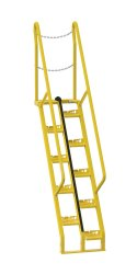 6 ft Alternating Tread Stair Ladders, 56° Angle