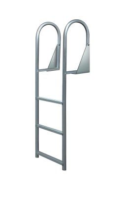 6 Step Anodized Aluminum Swinging Amp Flip Up Dock Ladders
