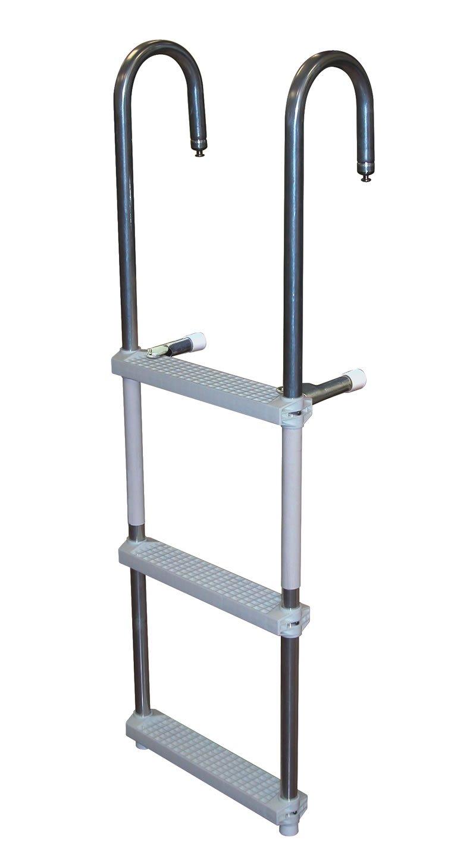 3 Step Pontoon Swim Amp Boarding Ladders Dockladdersdepot Com