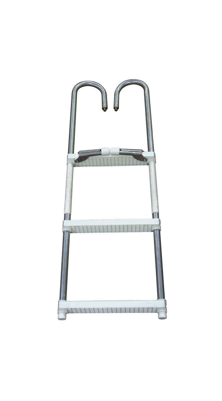 4 Step Pontoon Swim Amp Boarding Ladders Dockladdersdepot Com