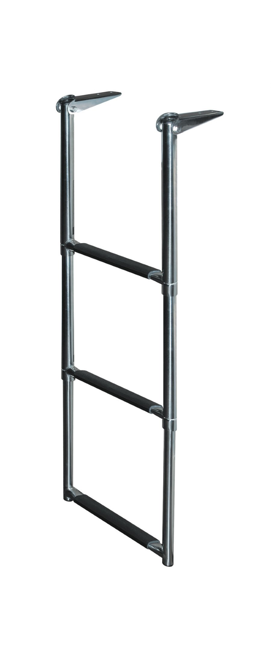 3 Step Stainless Steel Telescoping Transom Drop Ladders