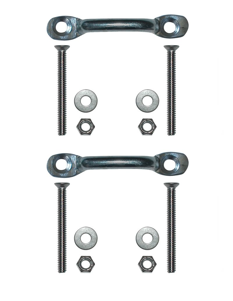 7 Step Angled Anodized Aluminum Dock Ladders