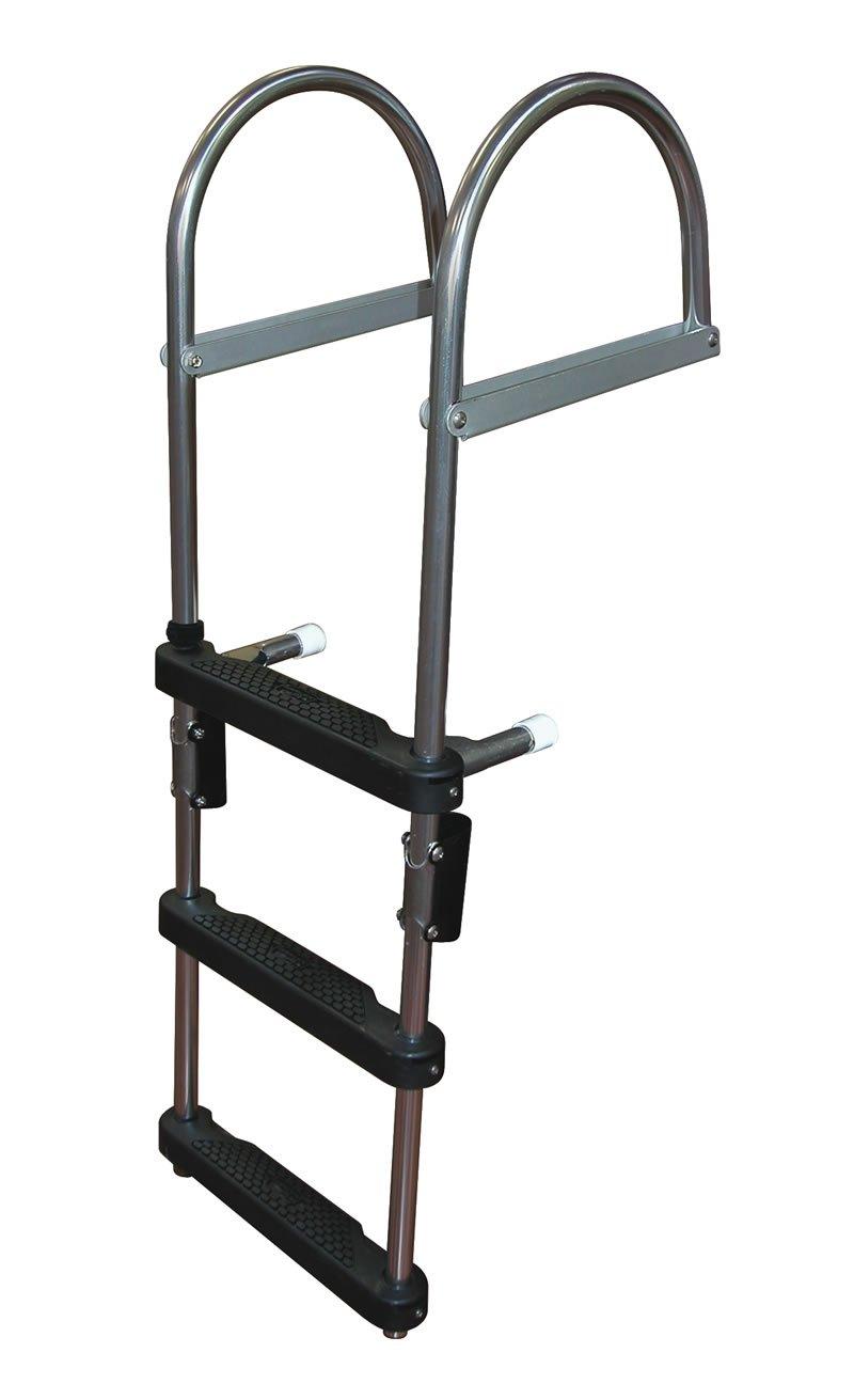 4 Step Pontoon Transom Boarding Ladder Pontoon Boarding