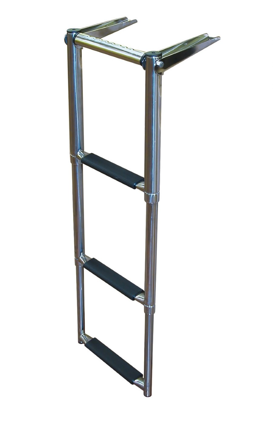 4 Step Over Platform Telescoping Boat Ladders