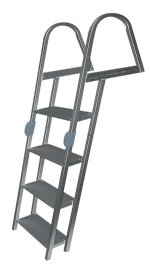 4 Step Folding Angled Dock Ladders