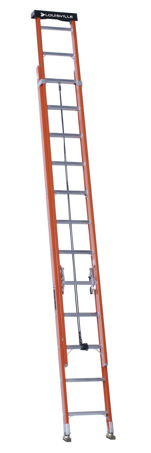 28 Step Fiberglass Extension Ladders 28 Step Commercial