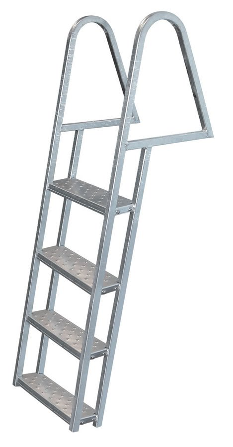 Jif Marine 5 Step Galvanized Steel Dock Ladders