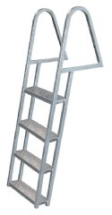 4 Step Steel Dock Ladders, Galvanized