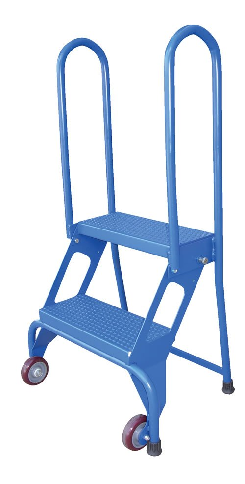 2 Step Portable Folding Step Ladders Dockladdersdepot Com
