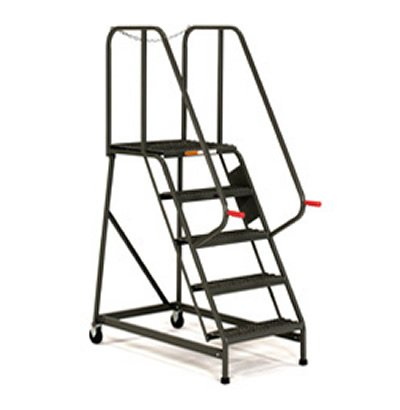4 Step Rolling Maintenance Amp Mechanics Ladders With Grip