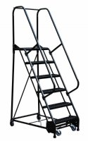 8 Step ESD-Safe Portable Warehouse Ladders