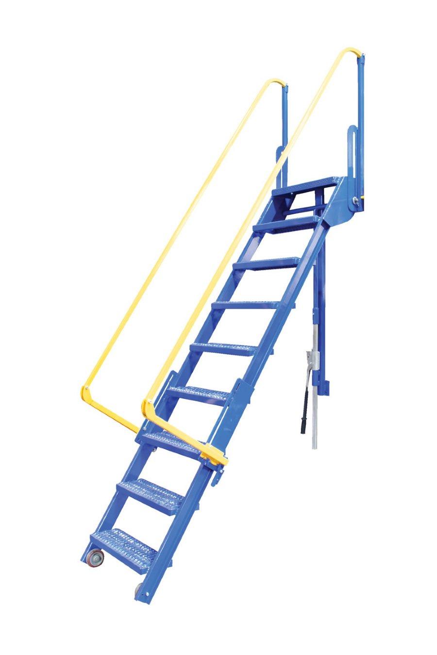 10 Step Folding Mezzanine Ladders 10 Step Mezzanine