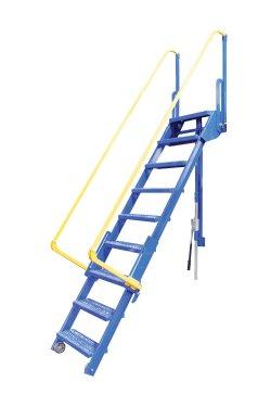 9 step folding mezzanine ladders 9 step steel mezzanine for Mezzanine cost estimate