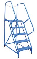 7 Step Portable Maintenance Ladders, Perforated Steps
