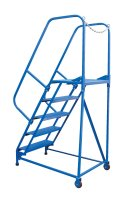 8 Step Portable Maintenance Ladders, Grip-Strut Steps