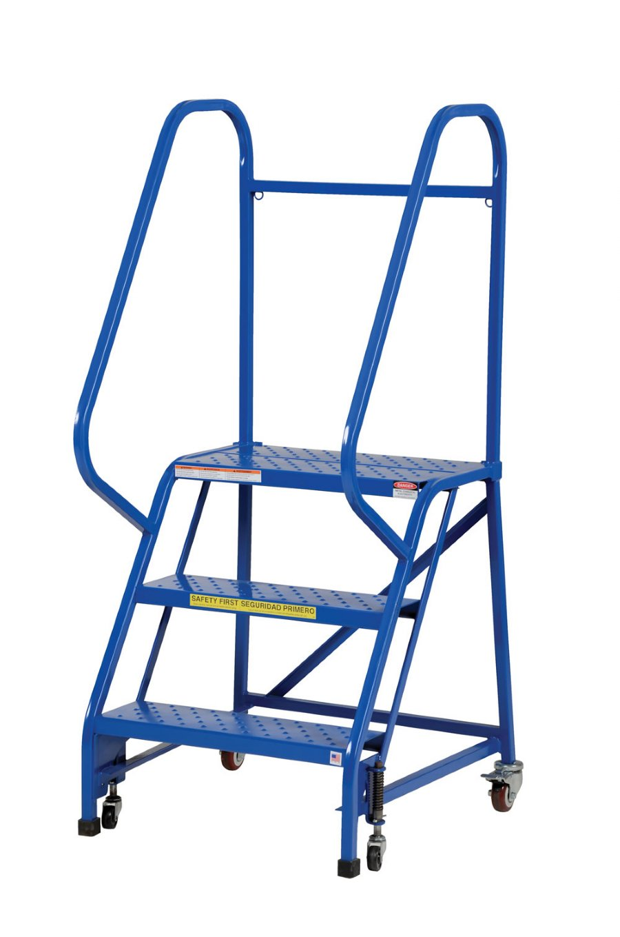 2 Step Portable Warehouse Ladders With 18 Quot Wide Grip Strut