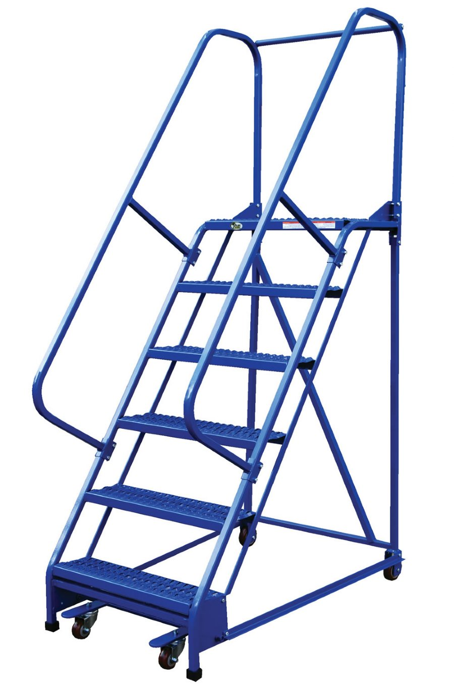 8 Step Portable Warehouse Ladders With 26 Quot Wide Perforated