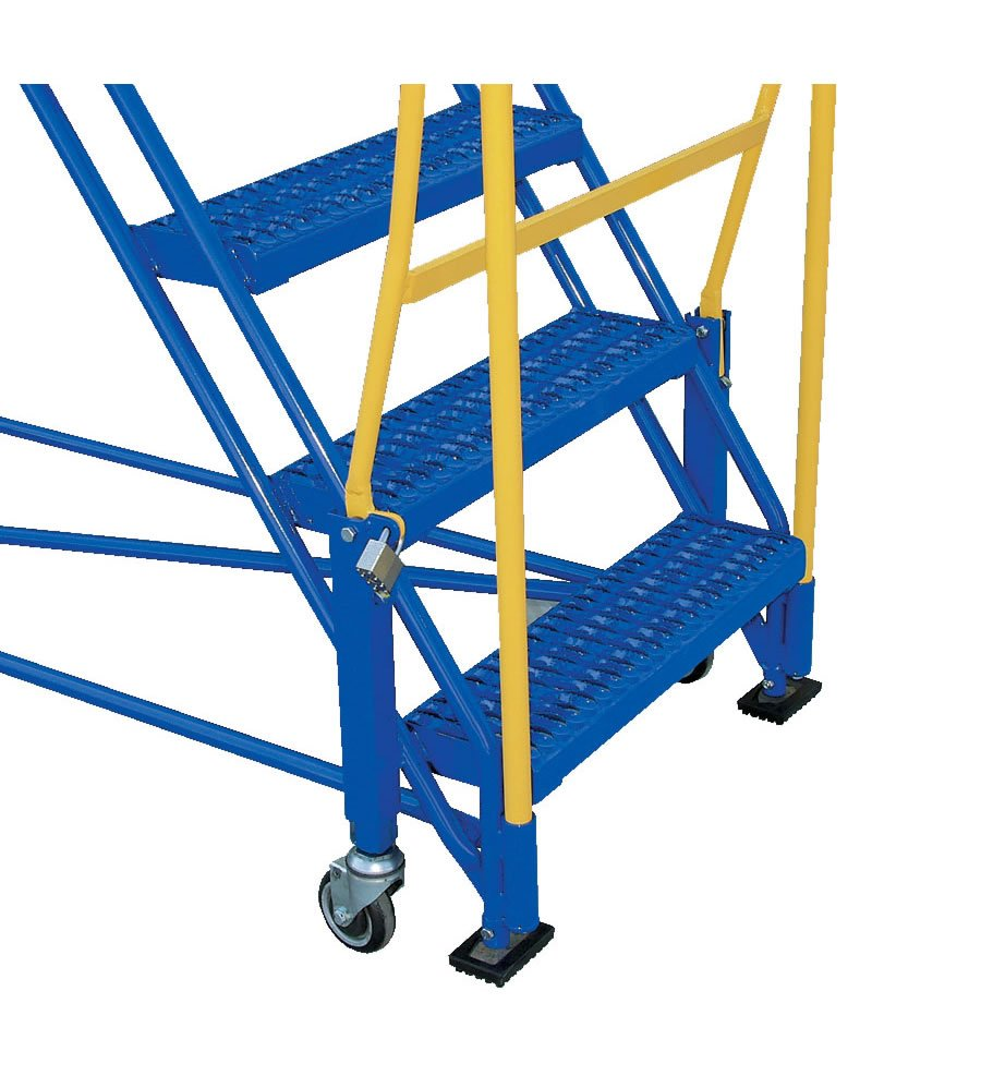 7 Step Rolling Warehouse Ladders 7 Step Mobile Warehouse