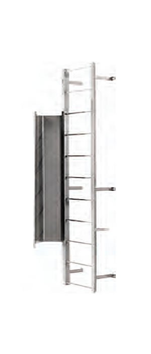 11 Step Fixed Steel Ladders Cotterman 11 Step Steel