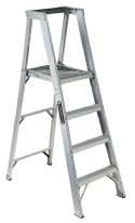 8 Step Aluminum Folding Step Ladders