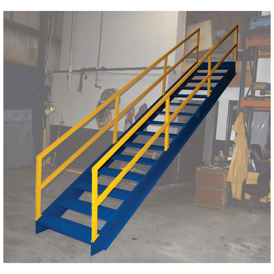 11 Step Modular Steel Stairways 11 Step Industrial Steel