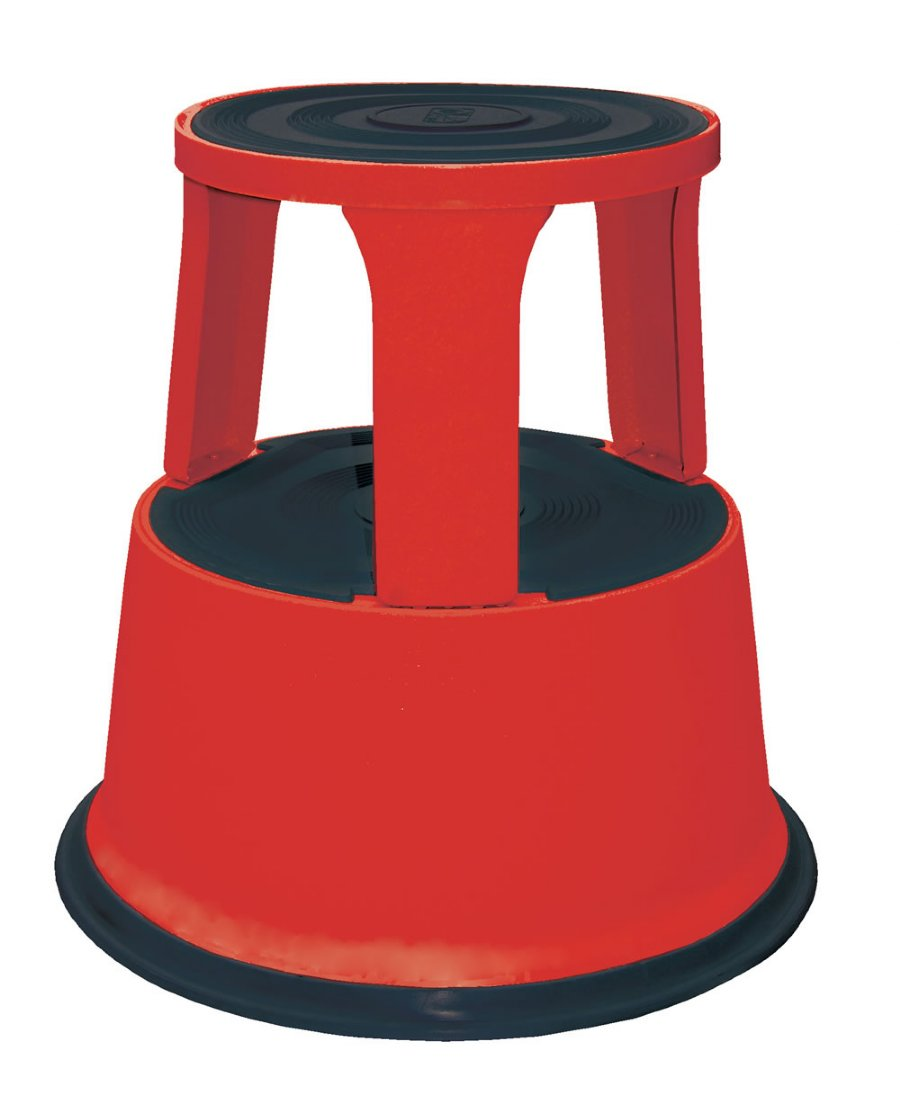 Red Rolling Step Stools Red Commercial Rolling Step