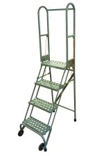 3 Step StocknStore Ladder, Aluminum Construction