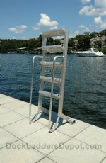 Wet Steps 5 Step Aluminum Dock Ladders