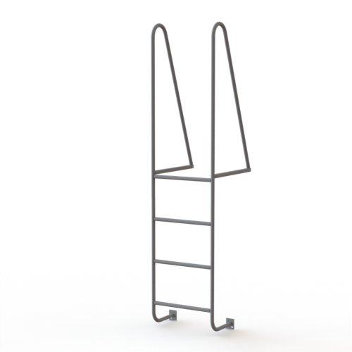 Walk Thru Ladder : Tri arc step steel walk thru access ladder